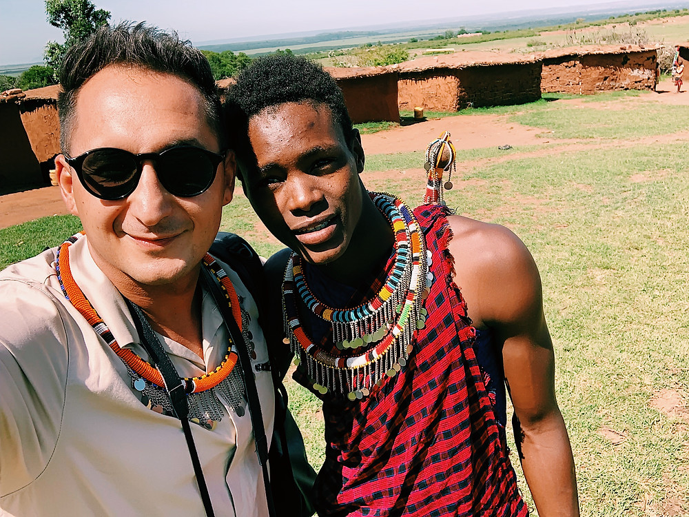 Orijus Gasanovas Kenijoje