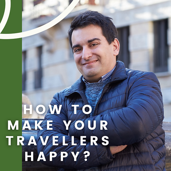 """(EN) """"How to make your travellers happy?"""" - lecture & discussion"""