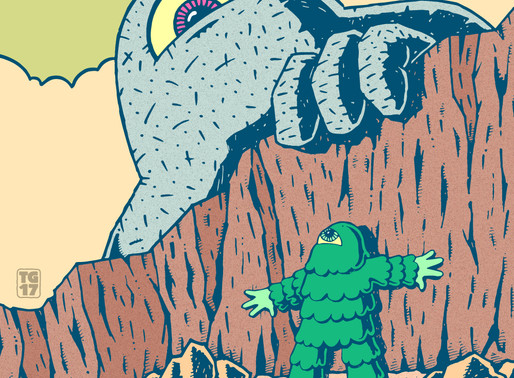 DRAWING MONSTERS, ALIENS, AND DINOSAURS - Interview with Tim Graham