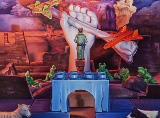 TOYS, THE GATEWAY TO IMAGINATION AND DESIRE TO CREATE - ARTIST AARON PICKENS