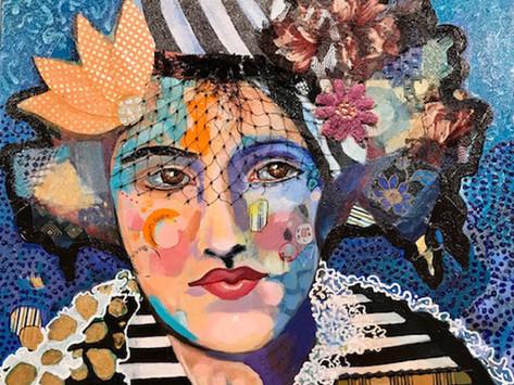 An Emotional Response to the World Around Us - Artist Yvonne Rojas-Cowan