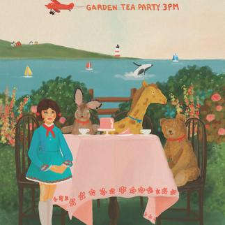 Garden Tea Party 3PM