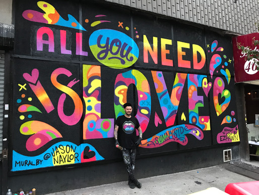 COLORFUL, FEEL-GOOD STREETS - Interview with Jason Naylor