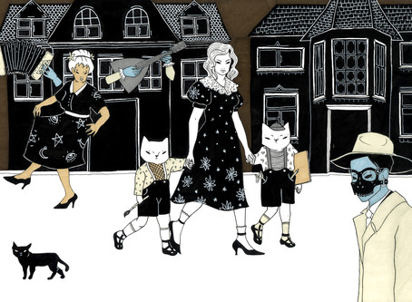 Slavic Folklore, Life and USSR Past - Artist Catpurrrs
