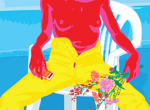 ENERGETIC ILLUSTRATIONS WITH BOLD COLORS - SPANISH ARTIST AND ILLUSTRATOR AGNES RICART