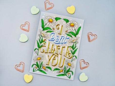 Romantic Hand-Lettering - Illustrator and Graphic Designer Olga Muzician