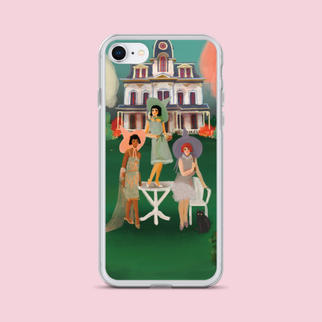 A Witch's Garden Party iPhone Case