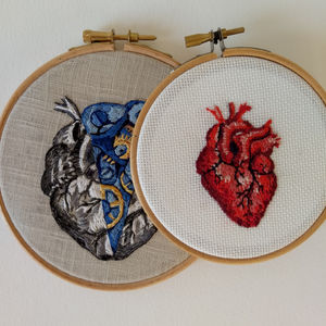 EMBROIDERED ANATOMY, JULIE CAMPBELL BRINGS AN ABUNDANCE OF