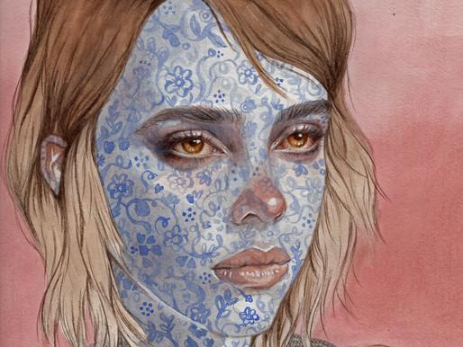 THE WONDROUS EMOTIONS OF HUMAN FACES, ARTIST KARI LILT