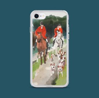 The Fox Hunt iPhone Case