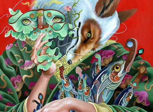 FOLKLORE AND PERSONAL MYTHOLOGY - ISSUE 4 ARTIST KIT MIZERES