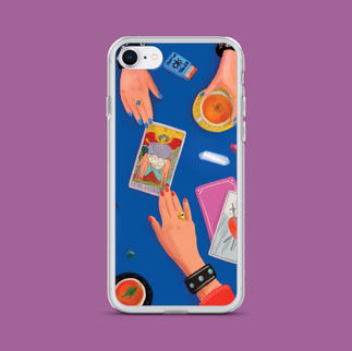 The Tarot Reading iPhone Case