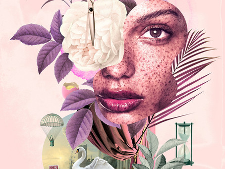 Paris Based Autodidact Finds Freedom and Beauty with Digital Collage - Artist André Sanchez