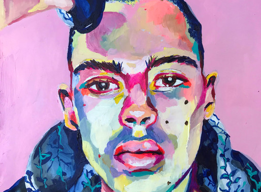 CAPTURING AN INTANGIBLE ESSENCE OF A PERSON - ARTIST OLIVIA BLACK