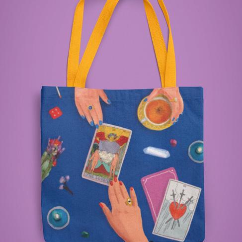 The Tarot Reading Tote Bag