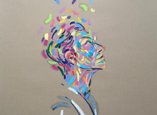 BIZARRE MIX OF ABSTRACTIONISM, FIGURATIVE ART, AND SURREALISM - ARTIST LANA