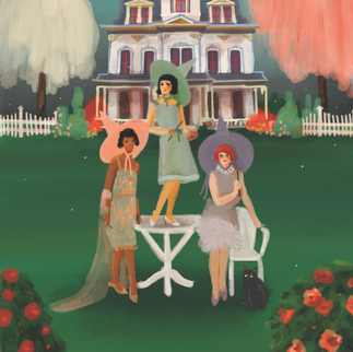 A Witch's Garden Party