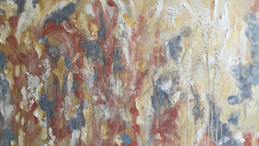 Using Emotion and Experiences to Bring Life to Abstract Oil Paintings - Artist Mona Lerch