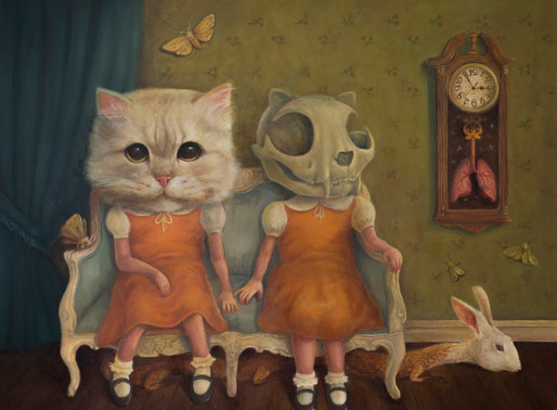 CHARACTERS STUCK IN CHILDHOOD NOSTALGIA - ARTIST KONAN LIM