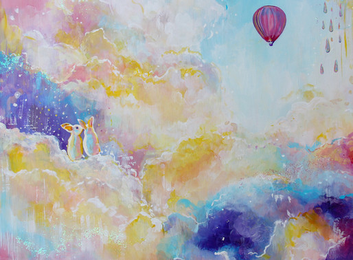 CAPTURING UPLIFTING EMOTIONS THROUGH PAINTING - ARTIST EMILY LOUISE HEARD