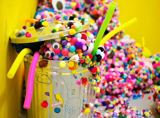 COTTON BALLS, PIPE-CLEANERS, AND GOOGLY-EYES! 3D AND 2D ART BY ADEHLA LEE