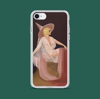 Gloria Witch iPhone Case