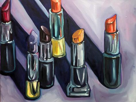Inspiration from the Surroundings at Home - Artist Lauren Leep