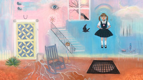 Painting a World of Nostalgia - Artist Sarah Sanders