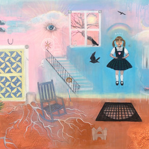 Painting a World of Nostalgia - Artist Sarah Sanders