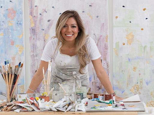 A MESSAGE OF HEALING THROUGH ART - ARTIST MICHELLE SAKHAI