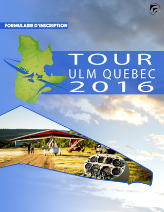 Tour ULM Québec 2016