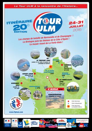 Le Tour ULM, c'est demain !