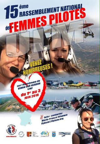 Femmes pilotes 2018