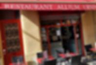 Restaurant bordeaux Allium Ursinum - Façade restaurant