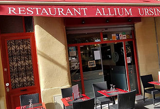 Restaurant bordeaux Allium Ursinum - Façade restaurant