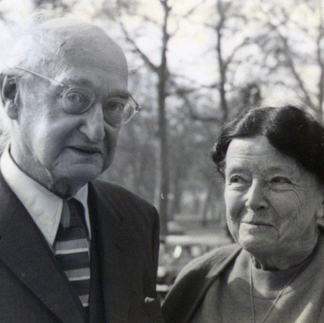 I.A. and Dorothea Richards Cambridge 1960s