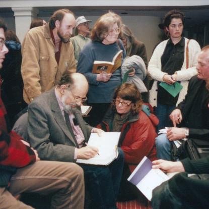 Allen Ginsberg Nov 1996