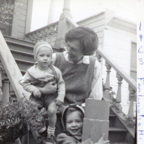 Ferlinghetti family 1963