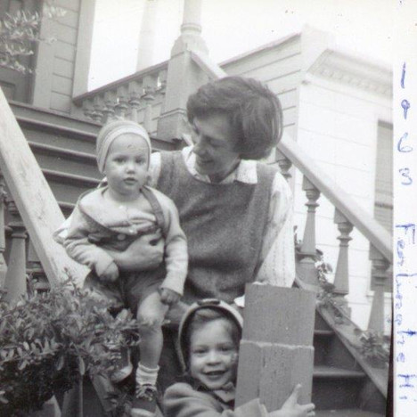 Ferlinghetti family 1963
