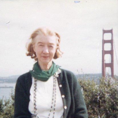 Marie Rexroth by Mom 1966 War protests San Francisco