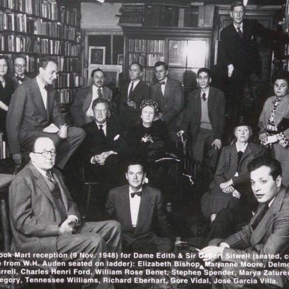 Gothan Book, Mart 1948, RGE back row Quite a lineup!
