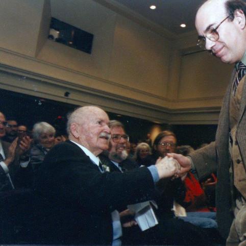 RGE and Jay Parini Nov 1996