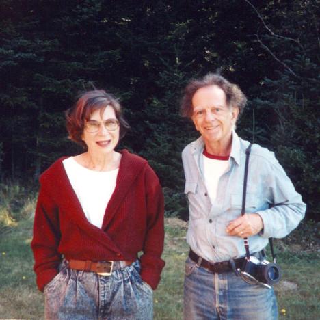 Liz and Dan Hoffman Undercliff 1970s