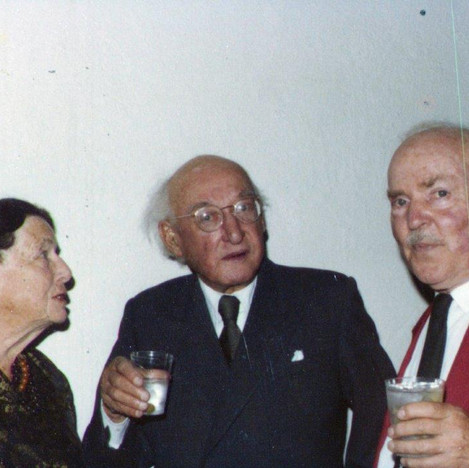 Dorothea and Ivor A. Richards and RGE somewhere sometime