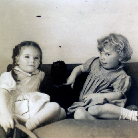 Kate Hoffman and Yours truly 1956 Hanover