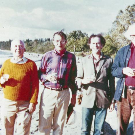 The Summer Poetic Quartet RGE, Phil Booth, Dan Hoffman, Cal Lowell 1980