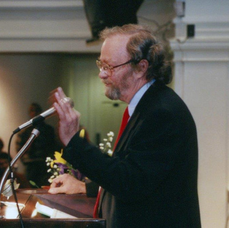 Donald Hall November 1996--the start of our adult friendship