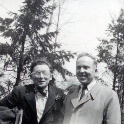 Oscar Williams and RGE 1950s Hanover