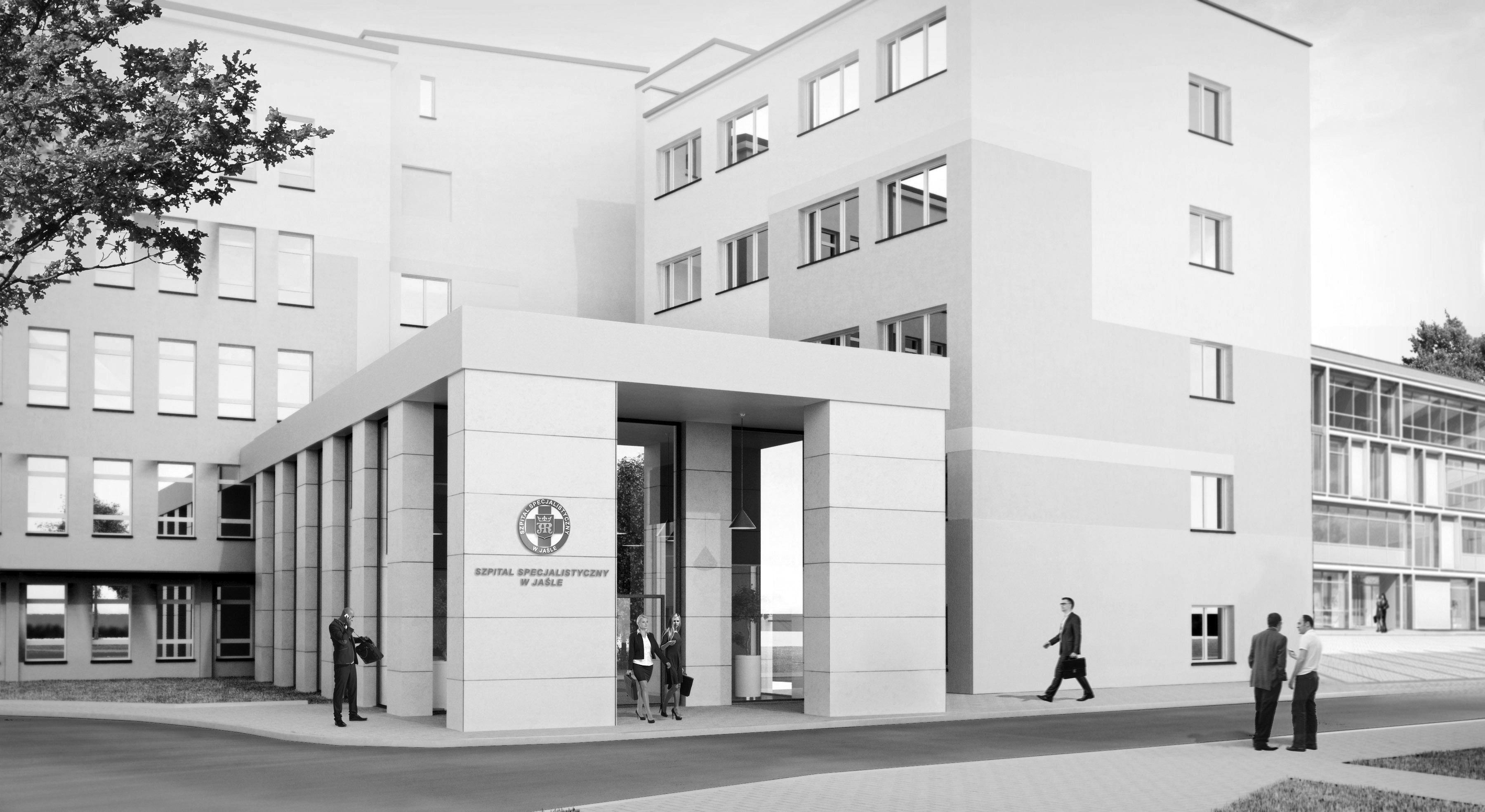 Konkus na szpital w Jaśle