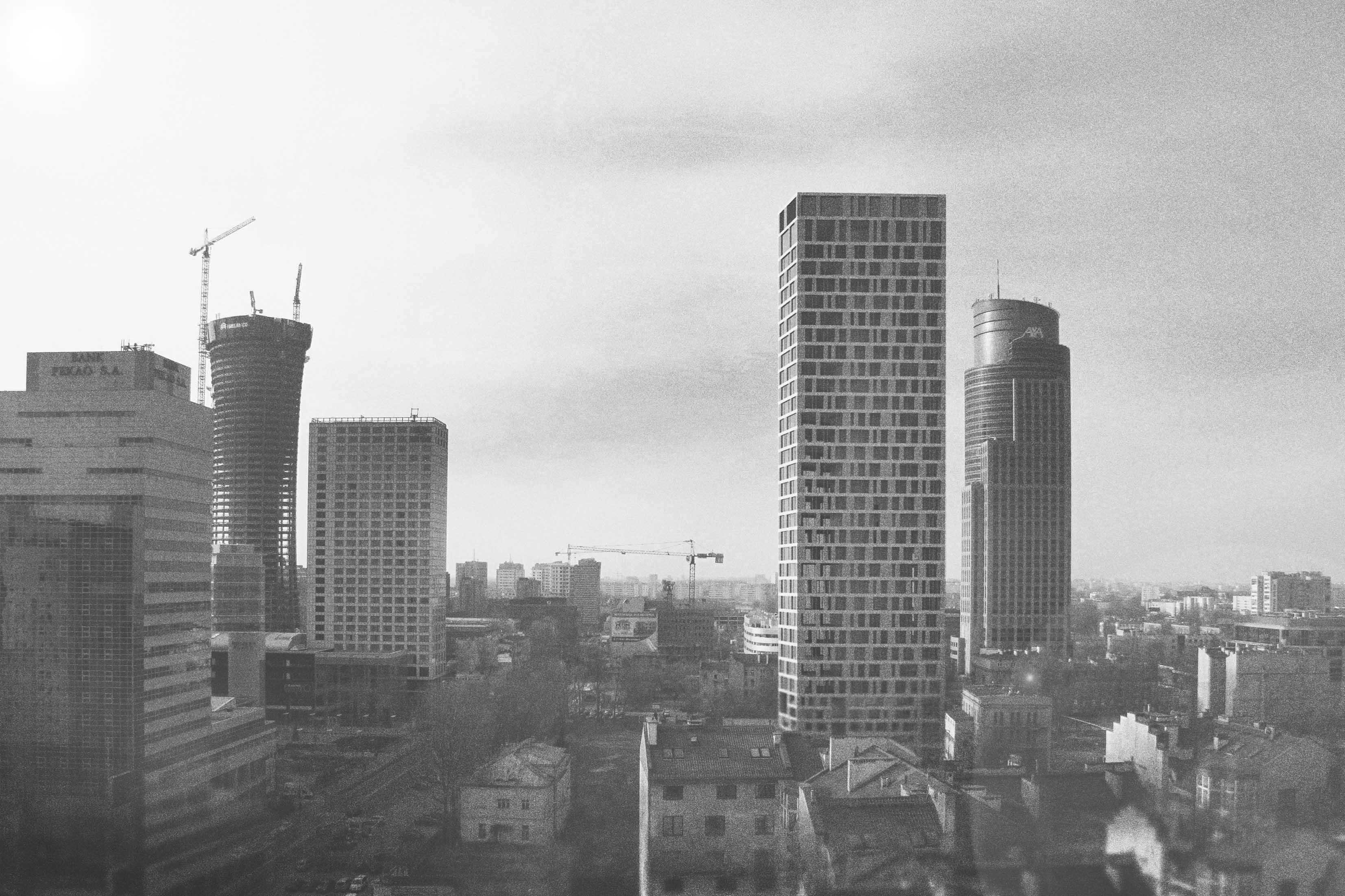 Wieżowiec w Warszawie